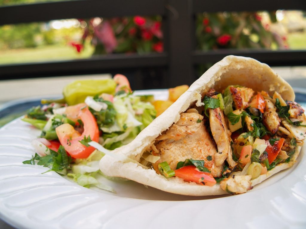 curried chicken, chicken salad, curry wrap, full for life, fullforlife, curried chicken recipe