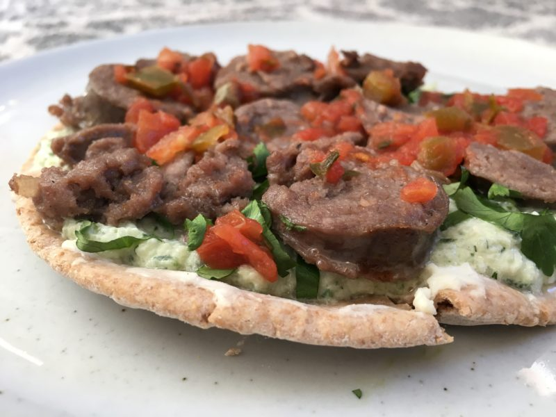 Greek-Style Lamb Gyro with Tzatziki Sauce