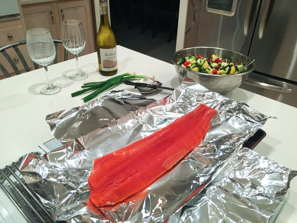quick and easy recipe, healthy recipe, food guides, mediterranean salmon, mediterranean recipe, salmon recipe, weight loss, healthy cookbook, clean eating, non-processed food, HIIT workouts, at-home workout