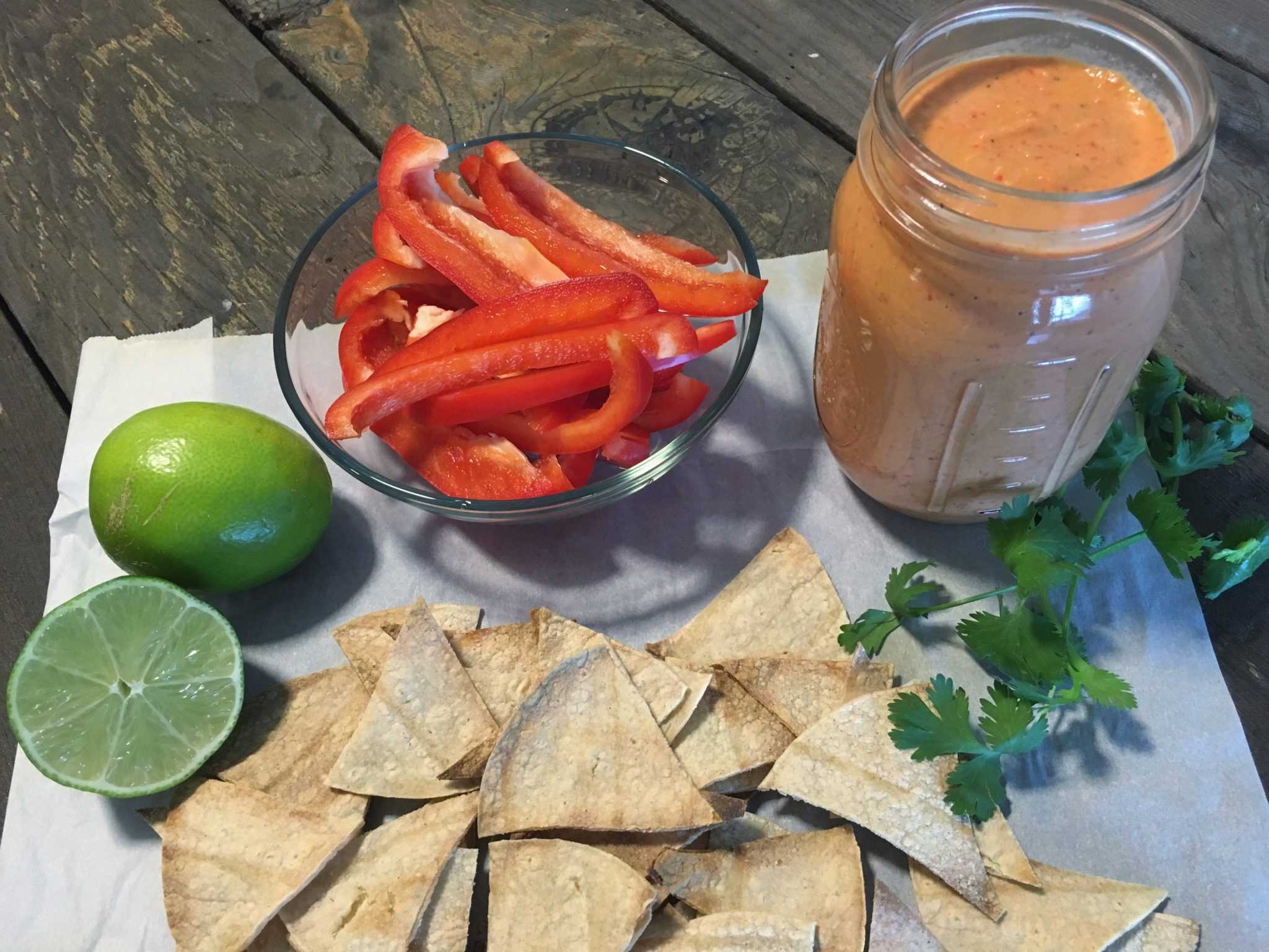 Roasted red pepper hummus fullforlife for Roasted red pepper hummus recipes