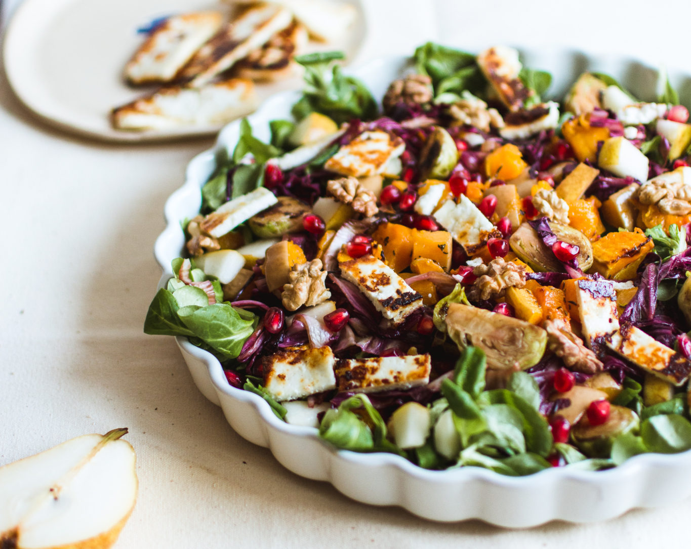 Supercharged Butternut and Beet Salad