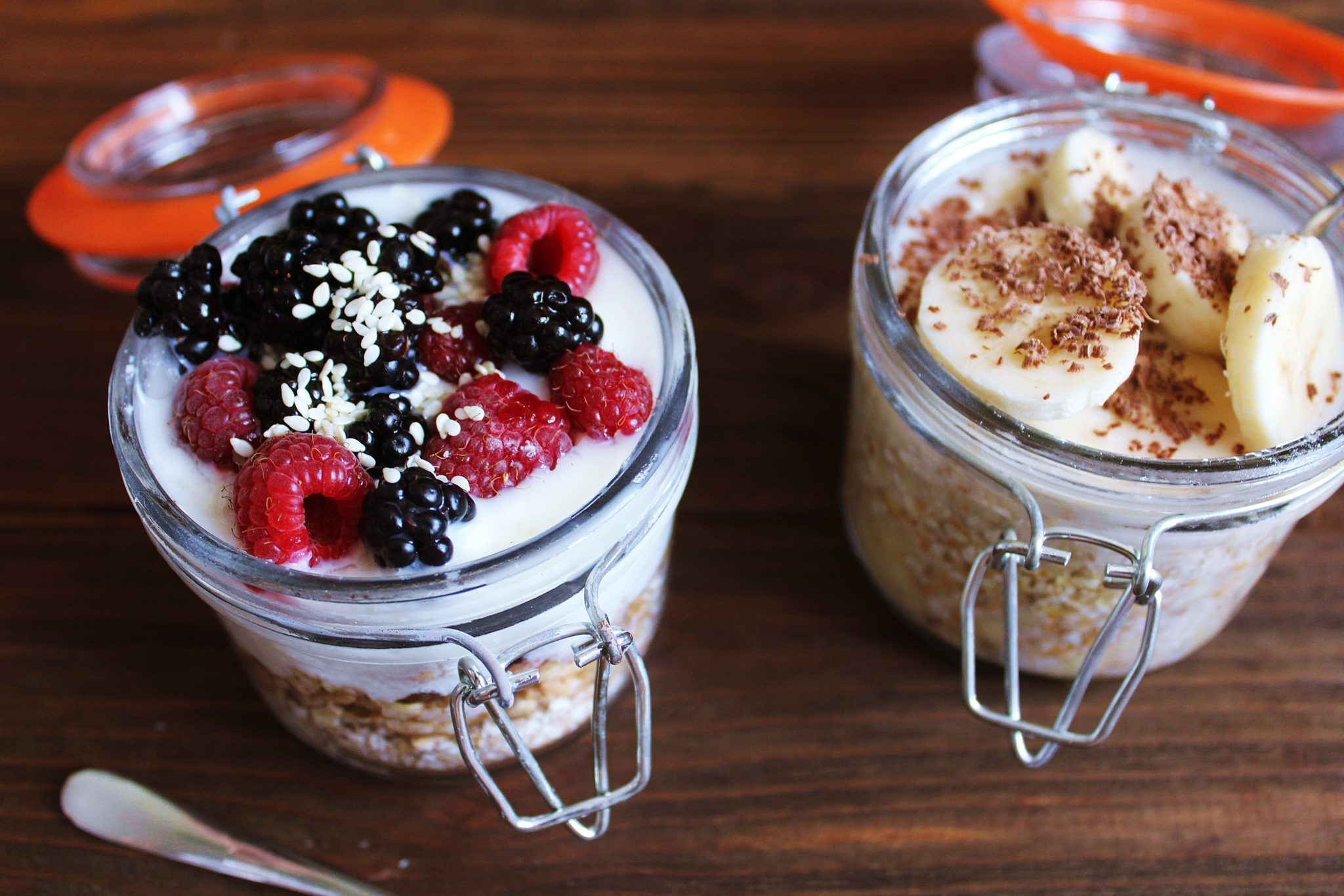 Berry Blast Overnight Oats