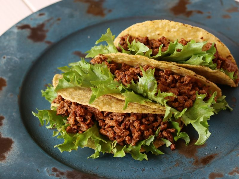 Easy Turkey Tacos (One Pot Meal)