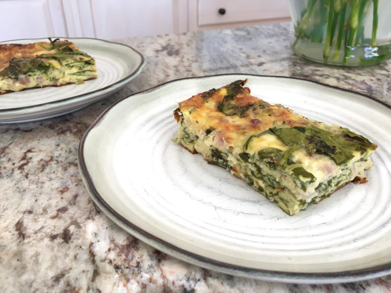 Easy Egg Casserole (Prep Ahead + Low-Carb)