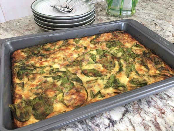 egg casserole, easy breakfast ideas, healthy recipes for moms, full for life, fullforlife