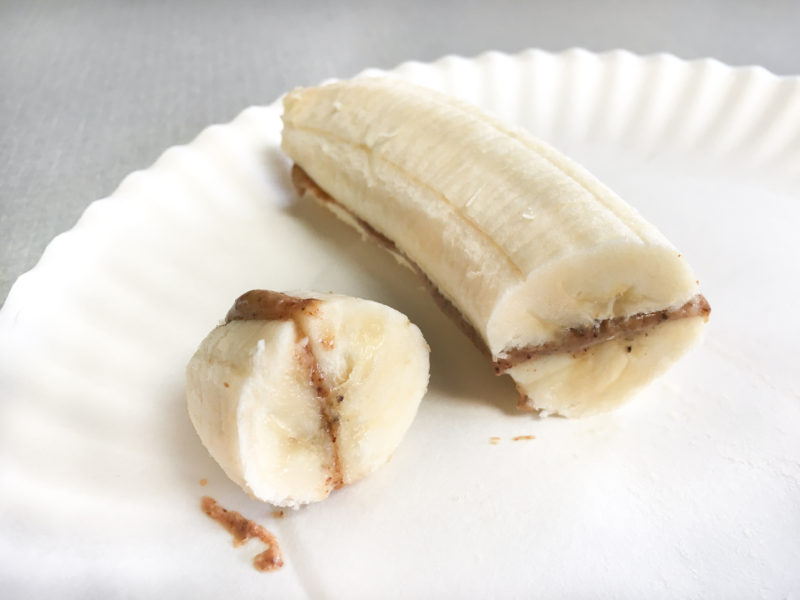 Peanut Butter Banana Boats