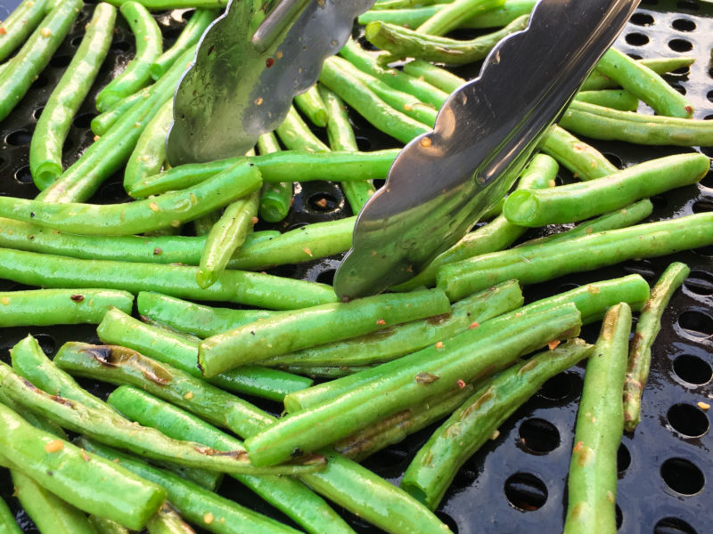 Lemon Dill Green Beans (Grilled or Stovetop)