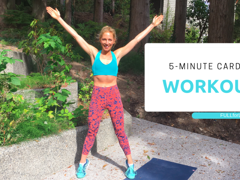 5-Minutes of Cardio Fitness