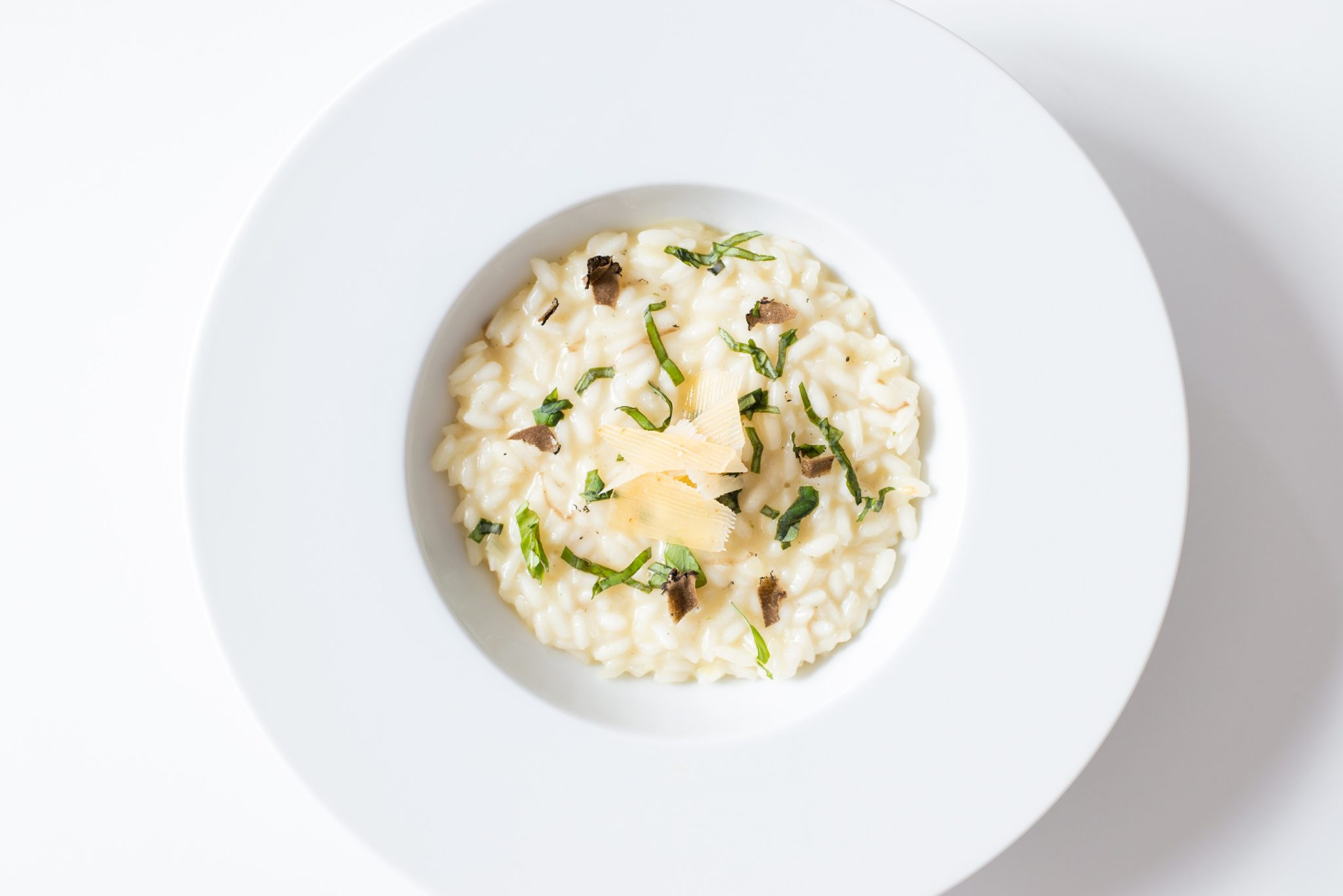 Creamy Cauliflower Risotto with Charred Sweet Corn