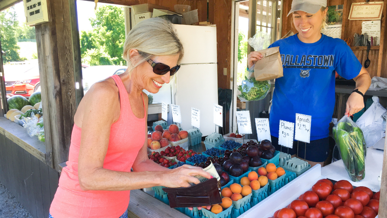 Shopping at Your Local Farmer's Market Made Easy