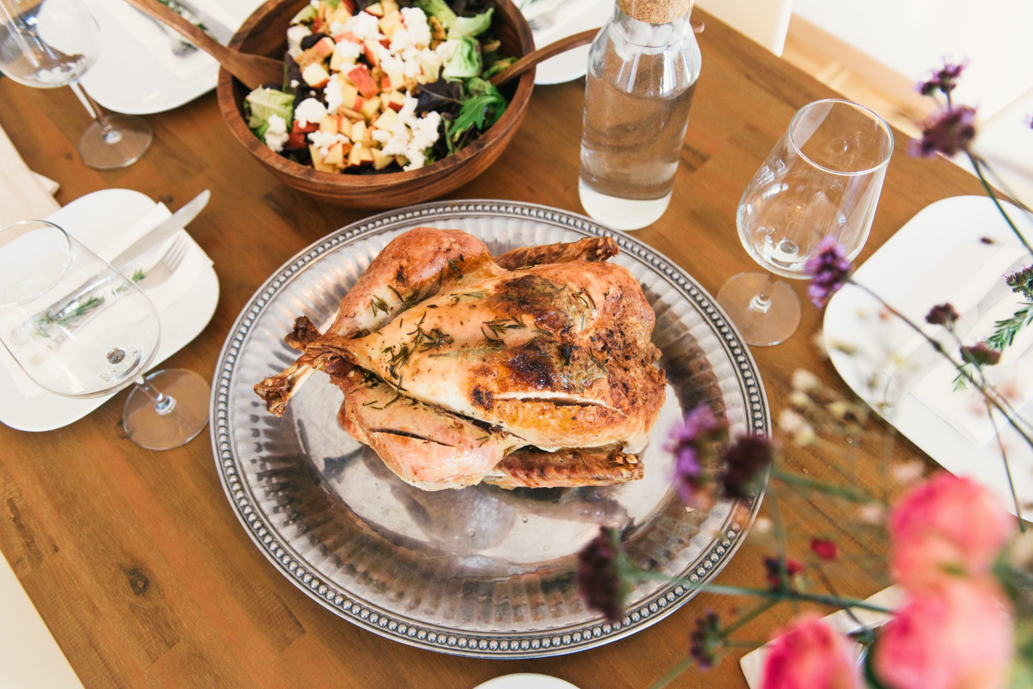 Rosemary and Sage Roasted Turkey (+ How to Make Homemade Gravy)