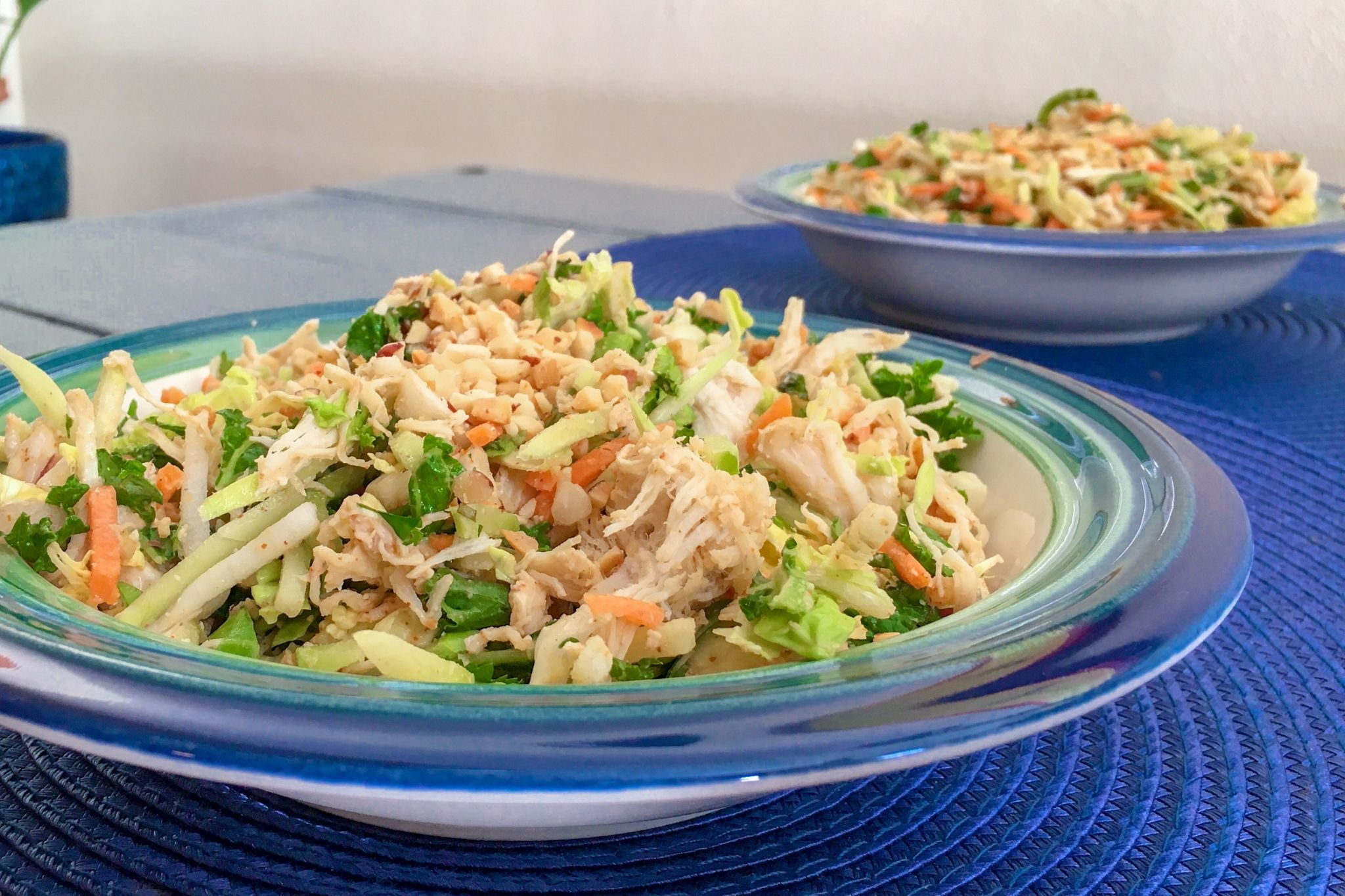 Chicken Thai Salad with Peanut Sauce