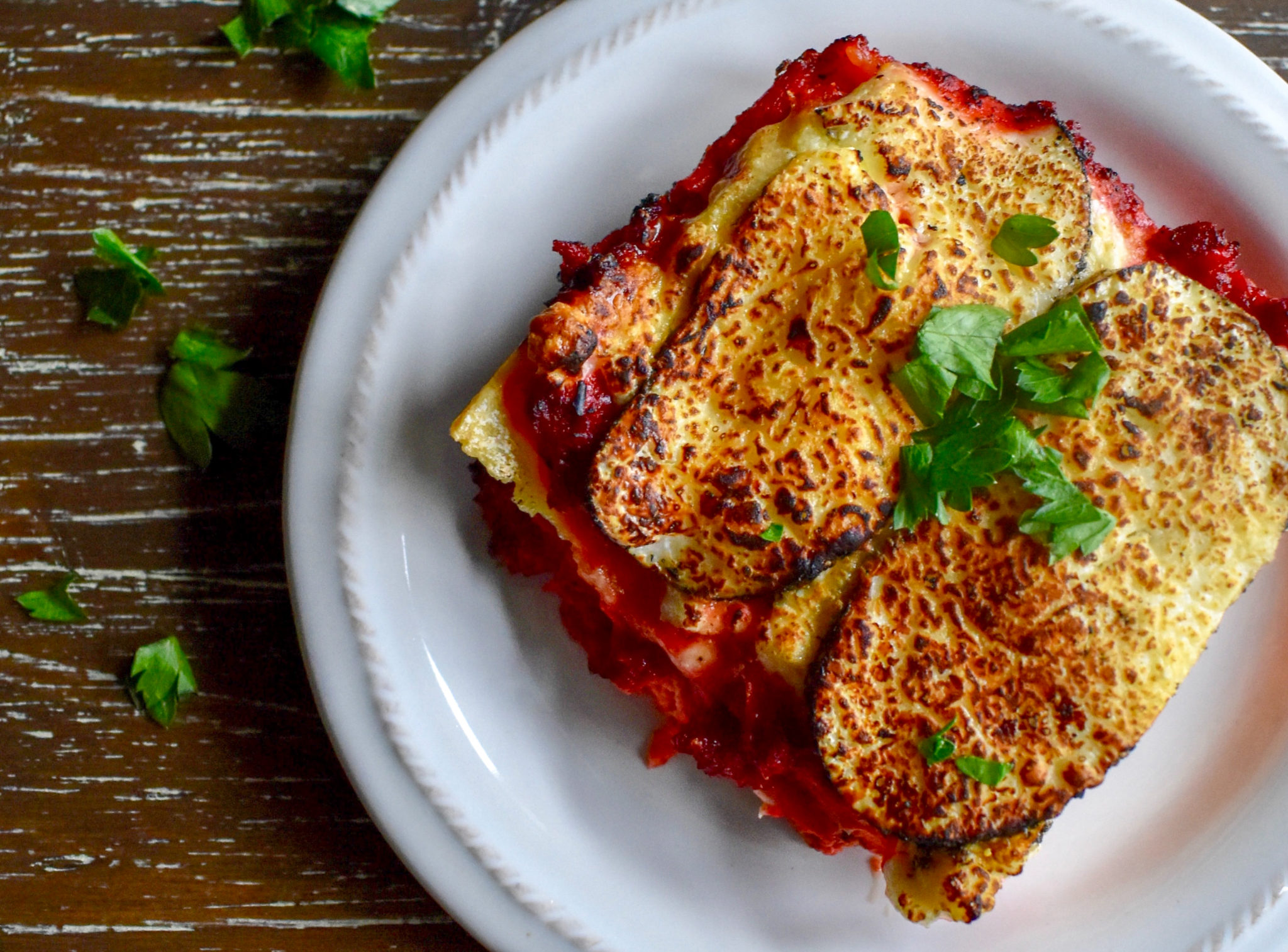 Eggplant and Cherry Tomato Bake (Meatless)