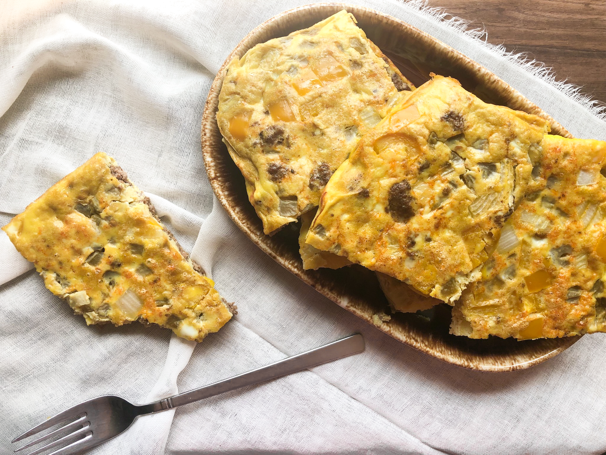 Mexican Style Egg Bake (Paleo)