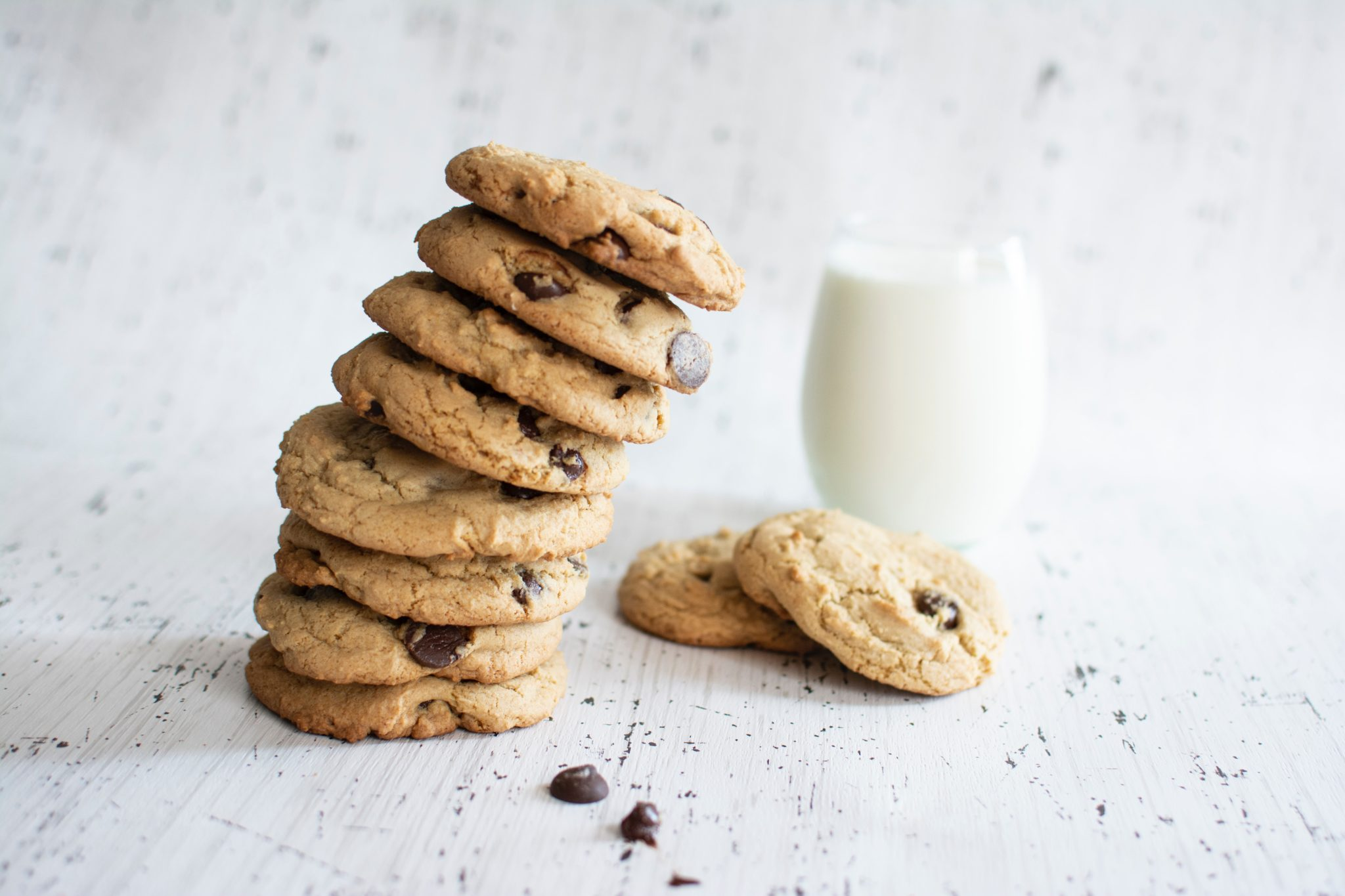 Best Chocolate Chip Cookies (Healthier + Soft and Chewy)