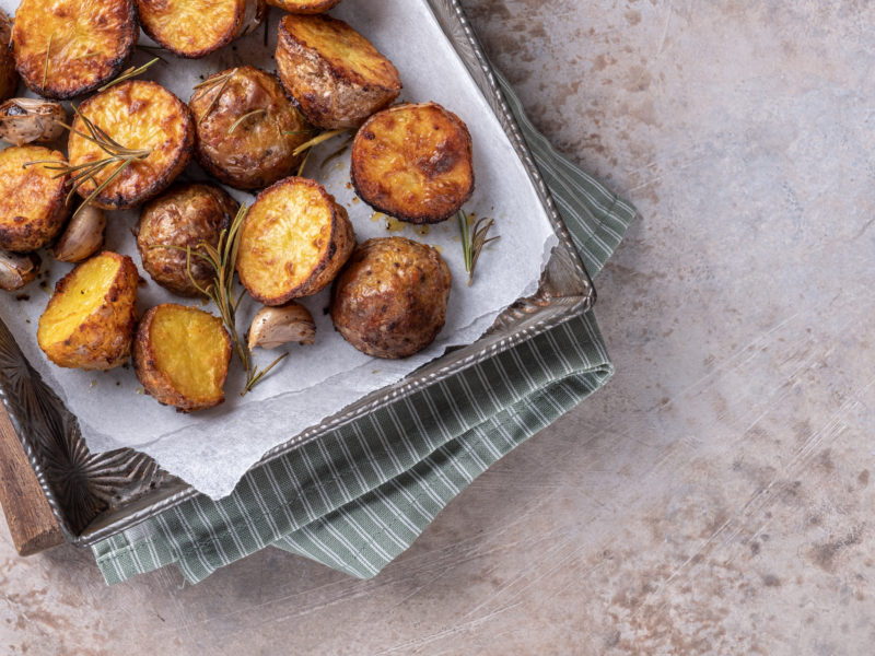 Garlic and Herb Roasted Red Potatoes (Perfect Side Dish)