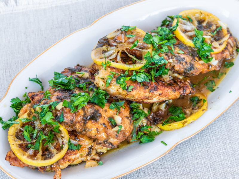 Pan-Seared Chicken Piccata
