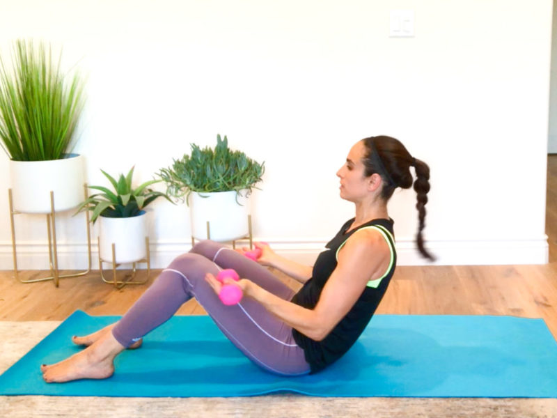 20-Minute Upper Body and Ab Workout